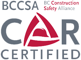 BC Construction Safety Alliance Certificate of Recognition