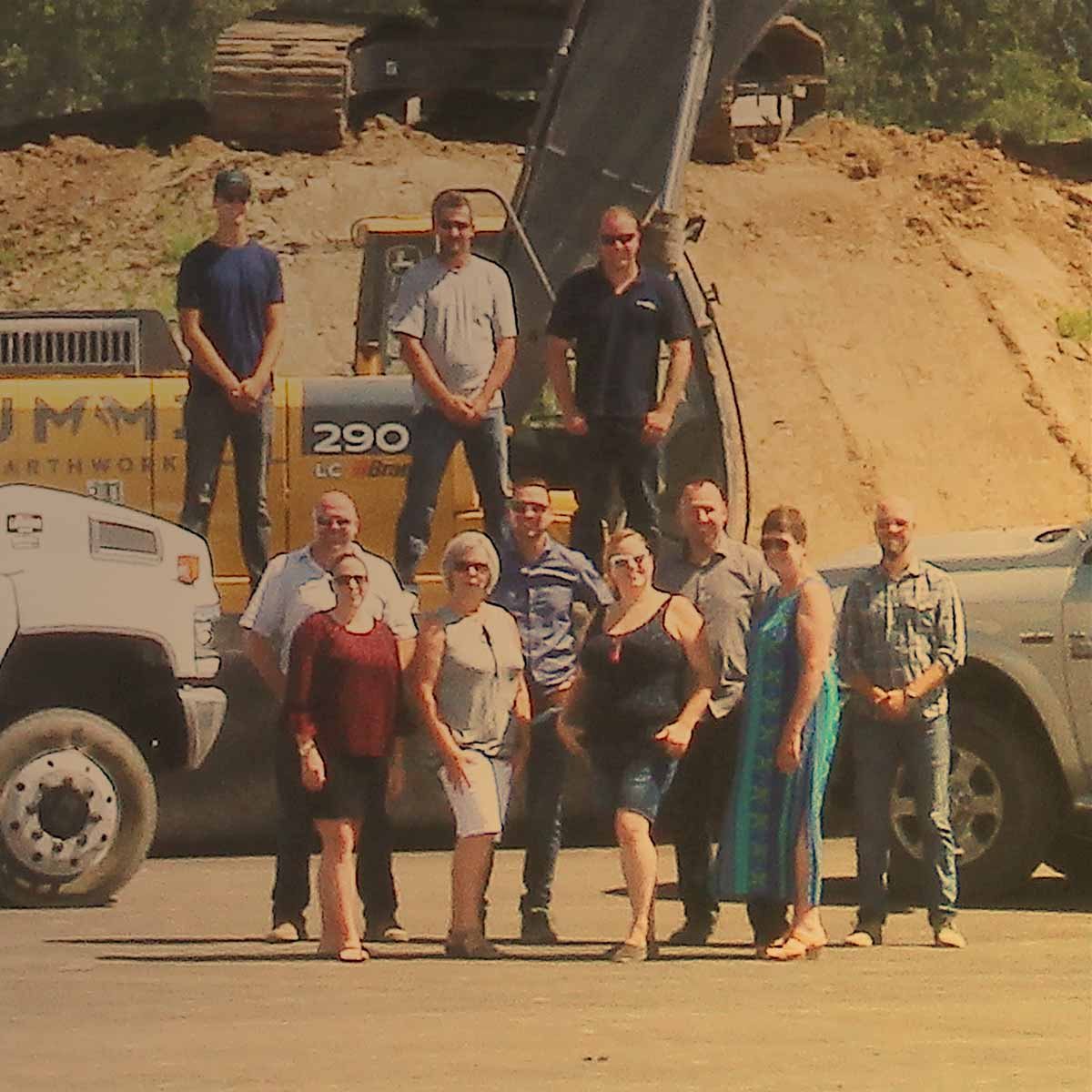 The team at Summit Earthworks